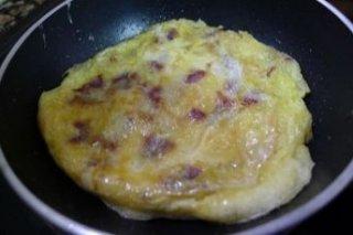Receta de tortilla de jamón