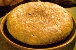 Receta de tortilla de papas de la suegra