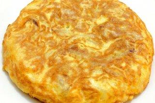 Receta de tortilla de patata con cebolla