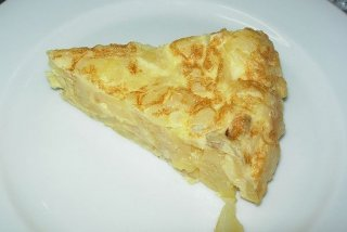 Receta de tortilla de patata jugosa