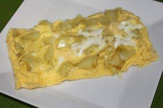 Receta de tortilla de patatas al microondas