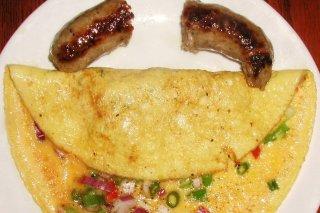 Receta de tortilla francesa con verduras
