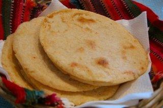 Receta de tortilla mejicana