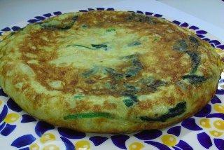 Receta de tortilla sacromonte
