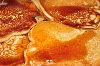 Receta de tortitas con miel