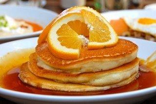 Receta de tortitas de naranja