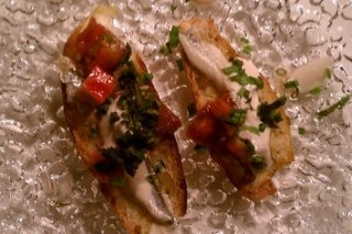 Receta de tostada de anchoas