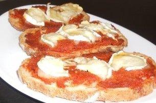 Receta de tostada de sobrasada