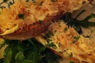 Receta de tostadas con cebolla