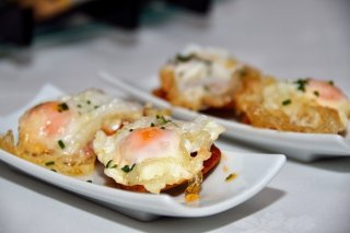 Receta de tostadas con huevo