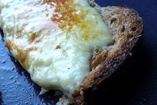 Receta de tostadas con queso