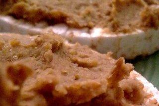 Receta de tostas de puré de lentejas