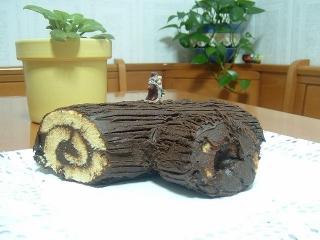Receta de tronco de navidad exprés