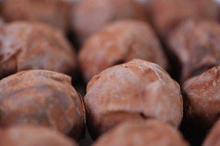Receta de trufas de chocolate fondant