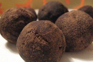 Receta de trufas de chocolate para diabéticos