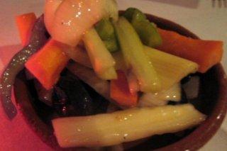 Receta de vegetales en escabeche