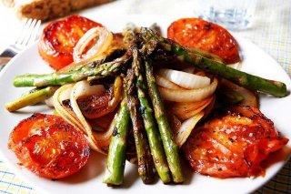 Receta de vegetales salteados
