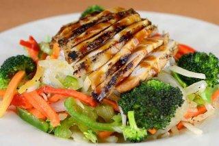 Receta de verduras con pollo