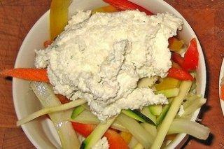 Receta de verduras con requesón