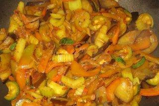Receta de verduras salteadas estilo chino