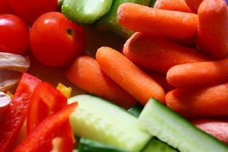 Receta de verduritas en ensalada