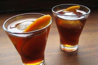 Receta de vermouth con naranja