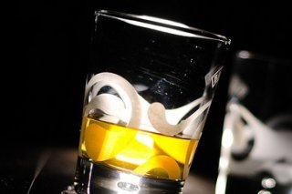 Receta de whisky crusta