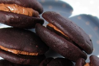 Receta de whoopies de chocolate