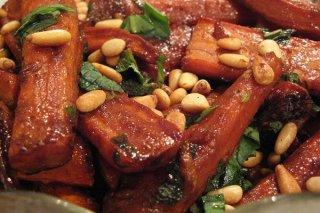 Receta de zanahorias asadas