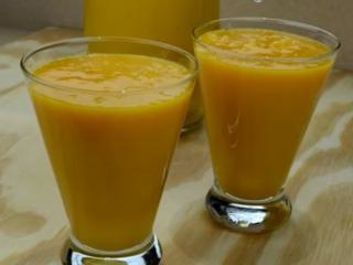 Receta de zumo de mango