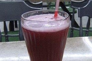 Receta de zumo de moras