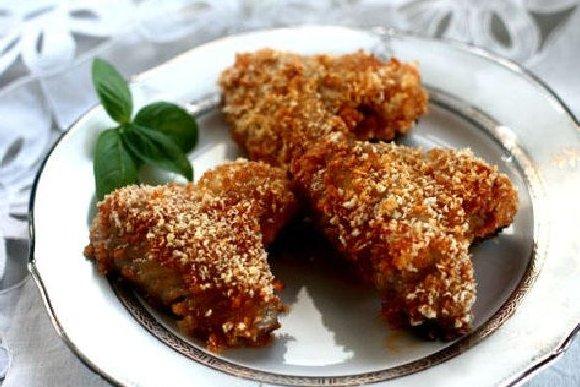 Receta de alas de pollo asadas con miel