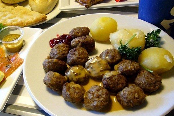 Receta de albóndigas de pollo en salsa