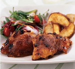 Receta de alitas de pollo a la miel con soja
