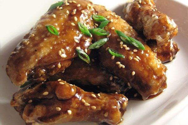 Receta de alitas de pollo a la miel