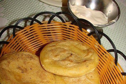 Receta de arepas con queso