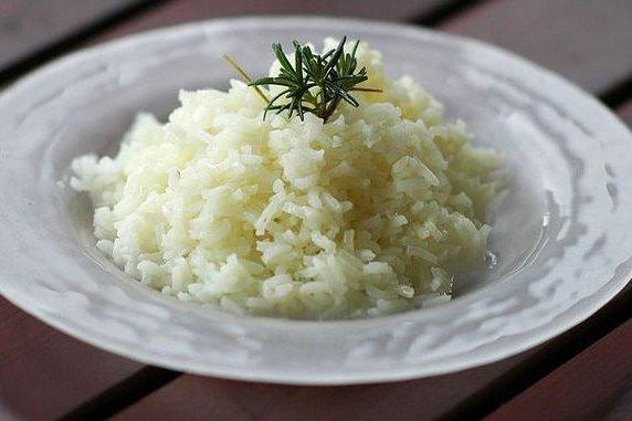 Receta de arroz blanco sabroso