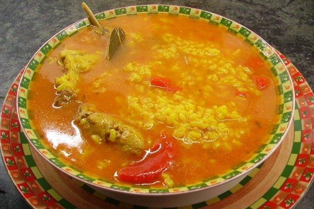 Receta de arroz caldoso con conejo
