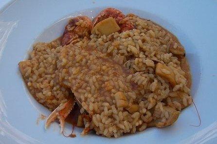 Receta de arroz caldoso