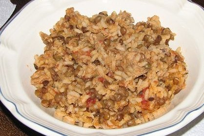 Receta de arroz con atún