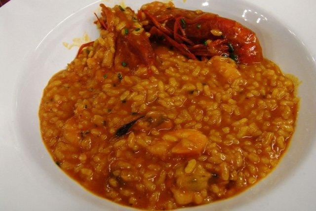 Receta de arroz con carabineros