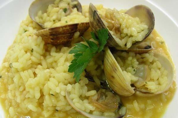 Receta de arroz con chirlas