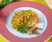 Receta de arroz con conejo