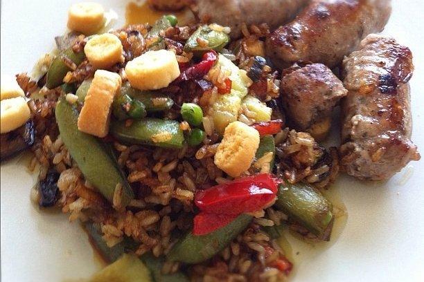 Receta de arroz con pato