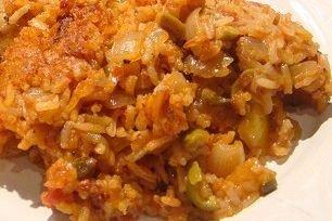 Receta de arroz con pollo amarillo