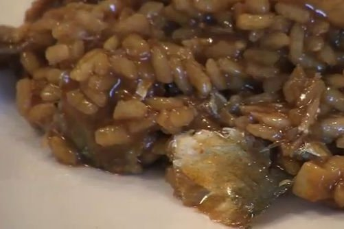 Receta de arroz con sardinas