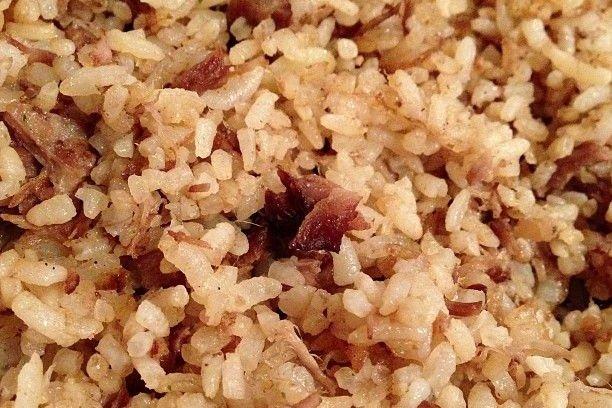 Receta de arroz frito con jamón