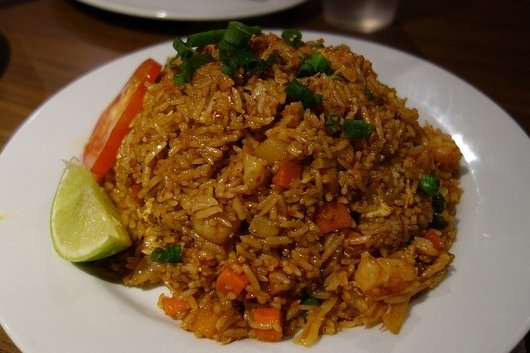 Receta de arroz frito con verduras