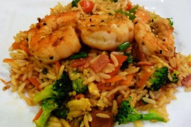 Receta de arroz frito estilo chino