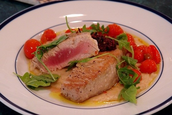 Receta de atún en salsa